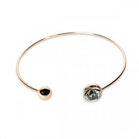 Taylor bracelet clear/rose gold