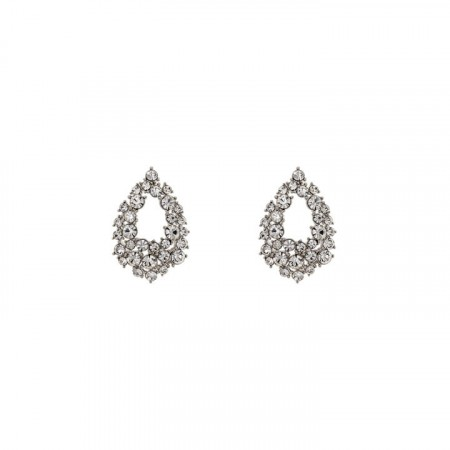 Petite Alice earrings crystal
