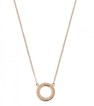 Monaco necklace rose gold