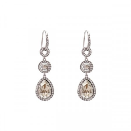 Amy earrings silver shade