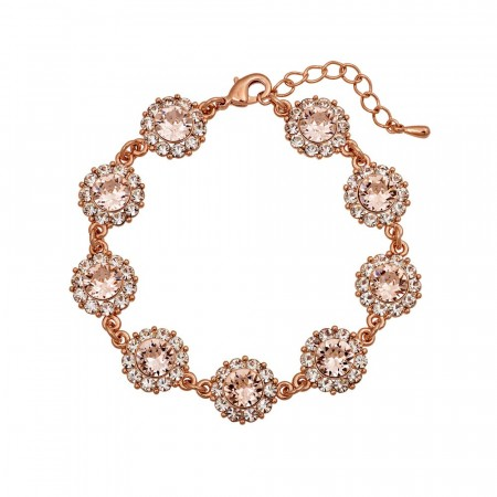 Sofia bracelet silk rose gold