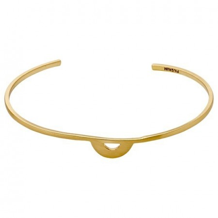 PILGRIM Eclipse gold plated bracelet