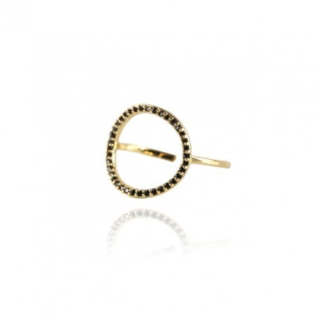 COOEE Circle Ring Gold Plated 18k