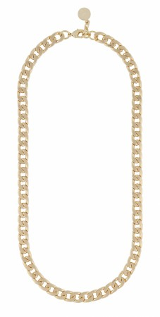 SNÖ Chase Mario M necklace plain gold