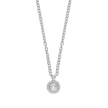 Sence small pendant necklace silver/clear